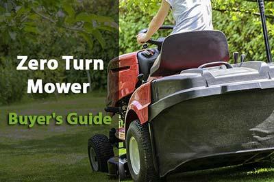 Zero Turn Mower Buyer's Guide