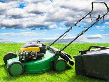 how to use a self propelled lawn mower