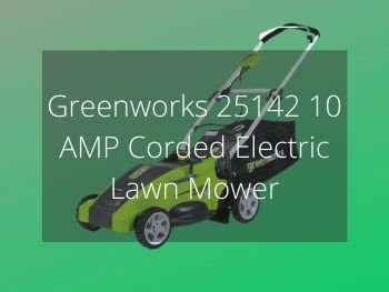Greenworks 25142 10 AMP Corded Electric Lawn Mower