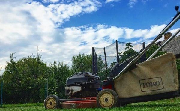 Lawn Mower Sputtering
