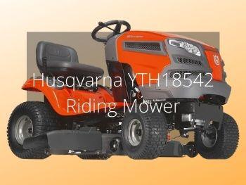 Husqvarna YTH18542 Review