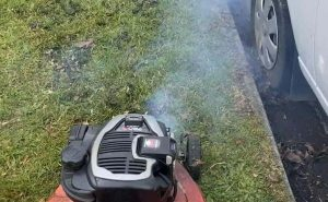 Why Your Lawn Mower Blows Blue Smoke